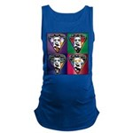 The WooFPAK 4 Peace, Love, Music Maternity Tank To