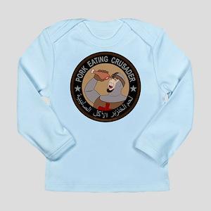 Pork Eating Crusader Long Sleeve Infant T-Shirt