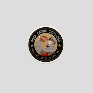 Pork Eating Crusader Mini Button