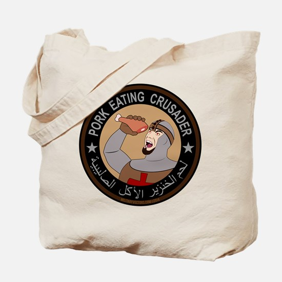 Pork Eating Crusader Tote Bag
