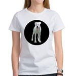 White Boxer Women's T-Shirt