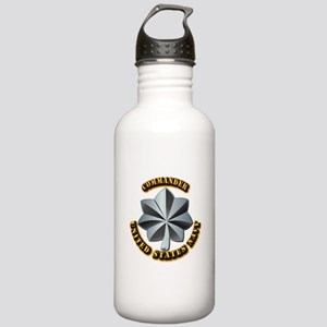 Navy - Commander - O-5 Stainless Water Bottle 1.0L