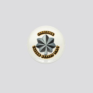 Navy - Commander - O-5 - V1 - w Text Mini Button