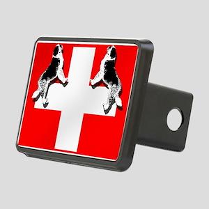 Swiss St. Bernards Rectangular Hitch Cover