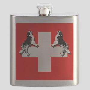 Swiss St. Bernards Flask
