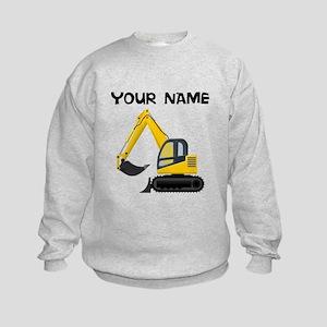Custom Excavator Sweatshirt