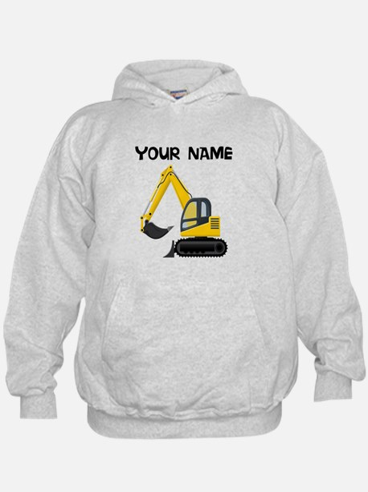 Custom Excavator Hoodie