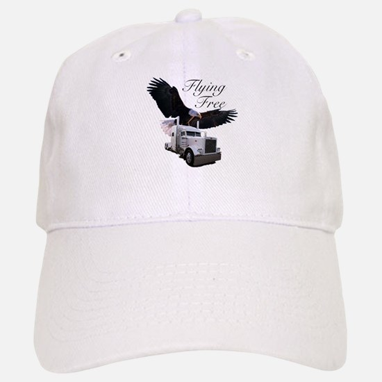 Flying Free Baseball Baseball Cap