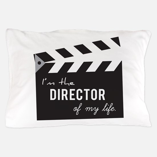 Director of my life Quote Clapperboard Pillow Case