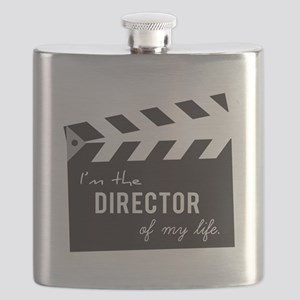Director of my life Quote Clapperboard Flask