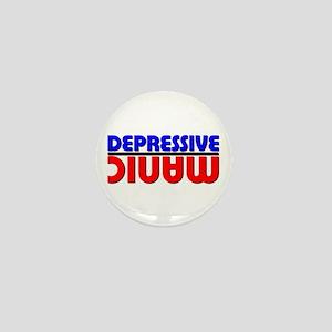 Manic Depression Mini Button