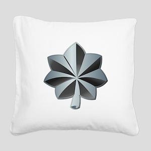 Navy - Commander - O-5 - V1 - Square Canvas Pillow
