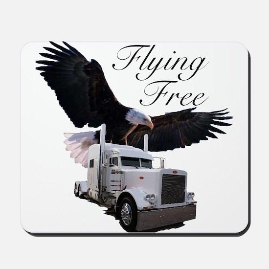 Flying Free Mousepad