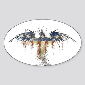 American Eagle Sticker