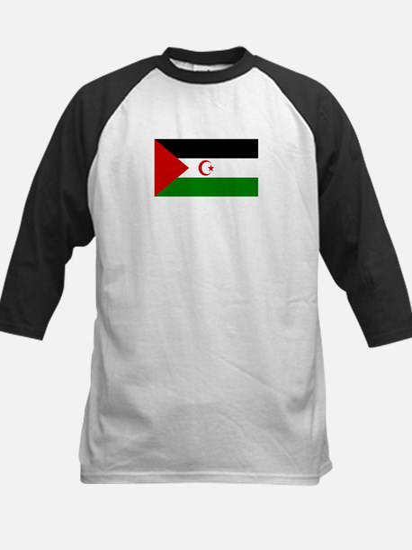 Western Sahara Kids Baseball Jersey