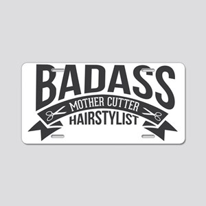 Badass Mother Cutter Aluminum License Plate