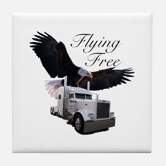 Flying Free Tile Coaster