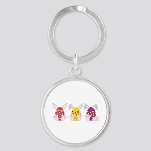 Hoppy Easter Keychains