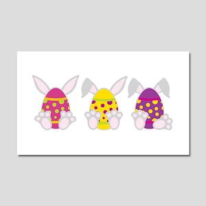 Hoppy Easter Car Magnet 20 x 12