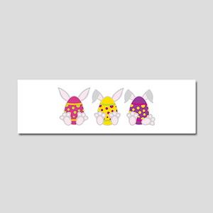 Hoppy Easter Car Magnet 10 x 3