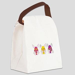 Hoppy Easter Canvas Lunch Bag