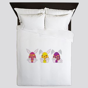 Hoppy Easter Queen Duvet