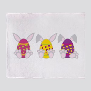 Hoppy Easter Throw Blanket