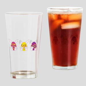 Hoppy Easter Drinking Glass