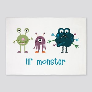 Lil Monster 5'x7'Area Rug
