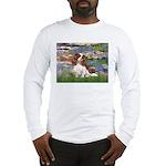 Lilies2 & Cavalier Long Sleeve T-Shirt