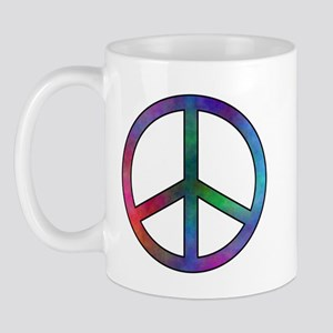 Multicolor Peace Sign Mug