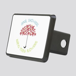 April Showers brings may flowers Hitch Cover