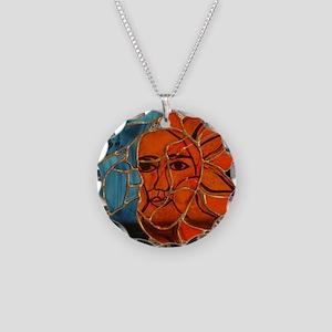 Hatha Sun/Moon Version 3 Necklace Circle Charm