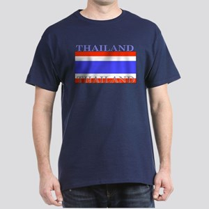Thailand Thai Flag Dark T-Shirt
