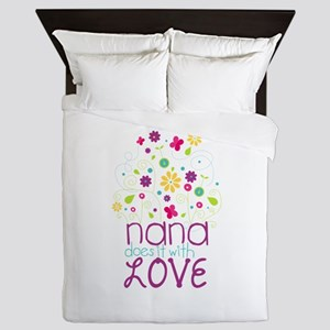 Nana Does It With Love Queen Duvet