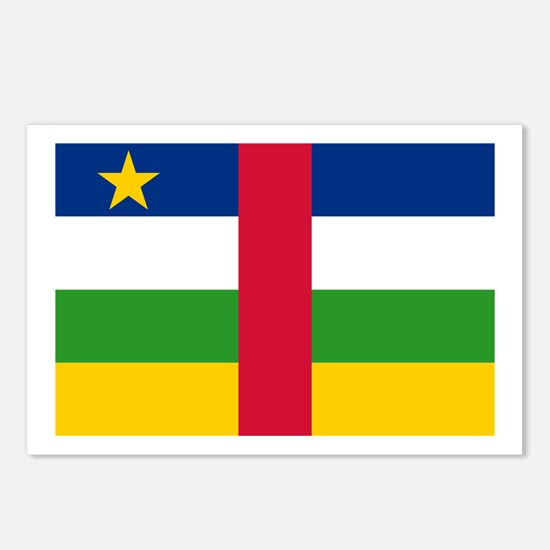 The Central African Republic Postcards (Package of
