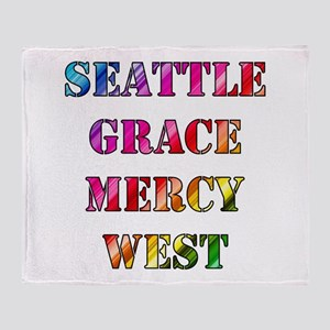 SEATTLE GRACE Throw Blanket