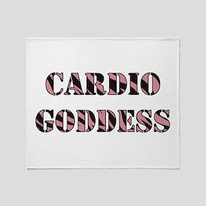 CARDIO GODDESS Throw Blanket