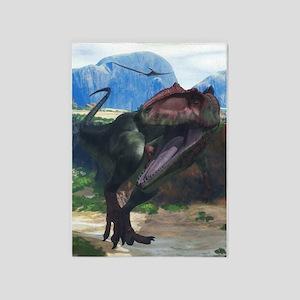 Giganotosaurus 5'x7'Area Rug
