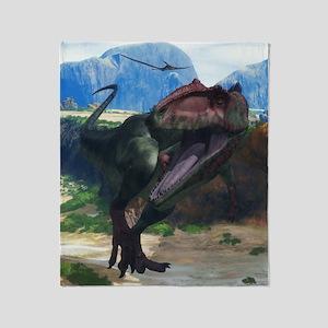 Giganotosaurus Throw Blanket
