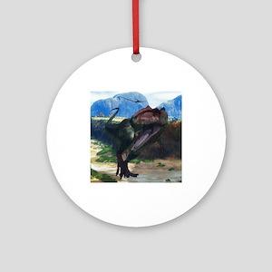 Giganotosaurus Ornament (Round)