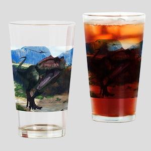 Giganotosaurus Drinking Glass