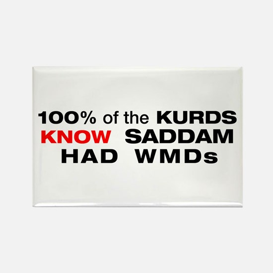 """Kurds know"" Refrigerator Magnet"