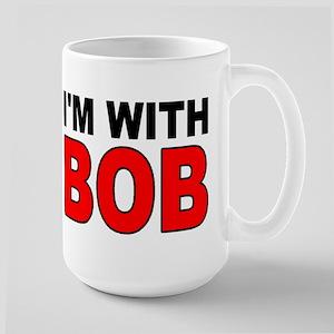 I'M WITH BOB Mugs