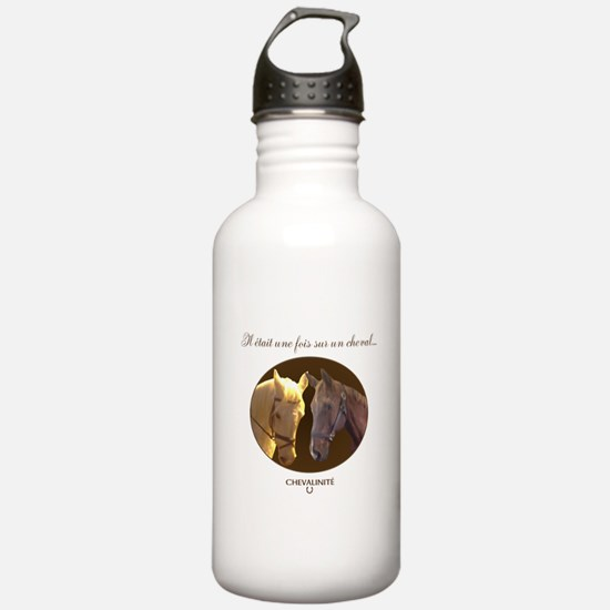 Horse Design by Cheval Sports Water Bottle