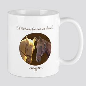 Horse Design by Chevalinite Mug