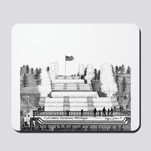 Cascades Jackson Michigan Mousepad