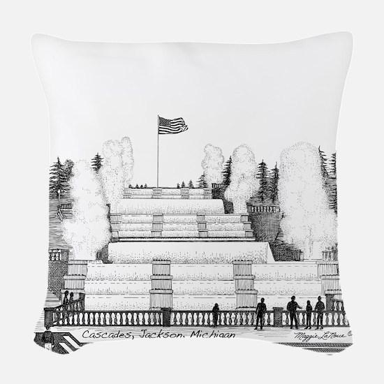 Cascades Jackson Michigan Woven Throw Pillow