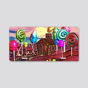 Candyland Aluminum License Plate