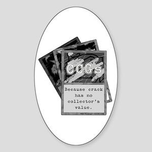 CCG Oval Sticker